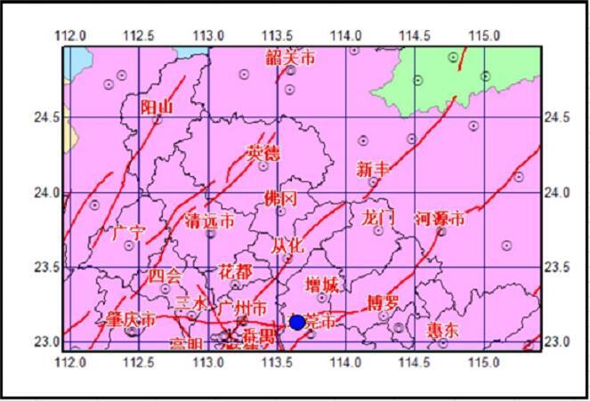 广州增城区21日凌晨发生2.4级地震