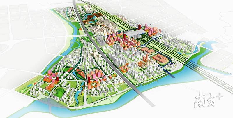 规划15公里专用轻轨 未来广州北站8分钟直达白云机场